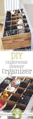 bathroom drawer organization: learn how to make your own underwear drawer organizer for free with materials you have around