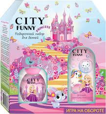 City Parfum <b>Парфюмерный набор City Funny</b> Princess: душистая ...