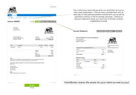 freshbooks review simplify your photography business accounting invoice client view click for larger view