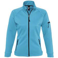 <b>Куртка флисовая женская New</b> Look Women 250, бирюзовая ...