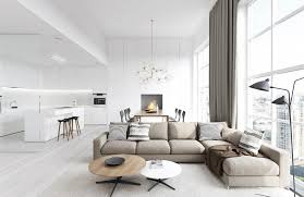 cool modern living rooms decorating ideas white living room interior with open floor plan ideas and beautiful white living room