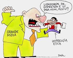 Resultado de imagem para Liberdade de imprensa, poder econômico e censura togada