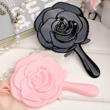 High Quality New <b>Women Rose</b> Style Portable Handle Cosmetic ...
