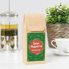 <b>Подарочный чай</b> «<b>Запас бодрости</b> на 2021 год» | Долина Подарков