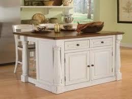 small white portable kitchen island