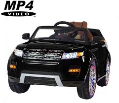 Детский <b>электромобиль Range Rover</b> Luxury Black MP4 12V ...