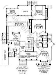 cottage ground floor victorian house plans pinterest Coastal Ranch House Plans coastal style house plan with two story foyer and dual master bedrooms coastal ranch home plans