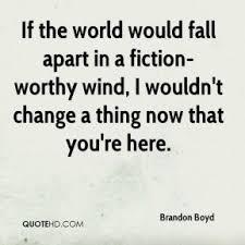 Brandon Boyd Quotes | QuoteHD