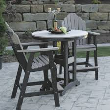 bar height patio chair:  efficient bar height patio table and chairs
