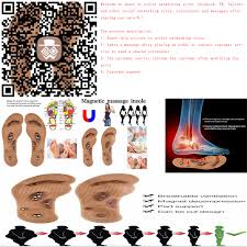 <b>1Pair New</b> Arrival Magnetic Therapy Magnet Health Care Foot ...