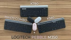 Обзор <b>Logitech</b> Pebble M350, K470 SLIM COMBO, K580, <b>K780</b> ...