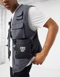 Купить мужские <b>сумки Obey</b> в интернет-магазине Lookbuck