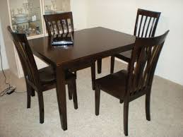 dining room tables chairs square: modern dining furniture marble top square dining room table