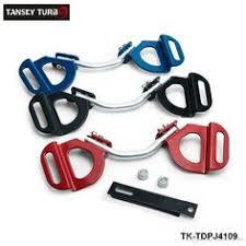 TANSKY - 4x Universal Fit <b>Front</b> Bumper <b>Lip Diffuser</b>/Canard/<b>Splitter</b> ...