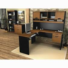 bestar innova l shaped workstation kit with accessories 2 colors bestar embassy corner desk