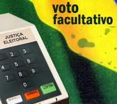 Resultado de imagem para voto facultativo