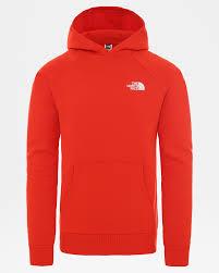 <b>Толстовка The North Face</b> M RAGLAN RED BOX HD FIERY RED ...
