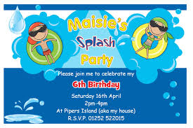 birthday pool party invitations theladyball com birthday pool party invitations which suitable for your party 25111614