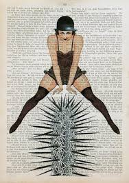 COURAGE art print poster girl <b>fashion cactus</b> hat sport <b>wall</b> | Etsy