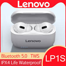 <b>Lenovo LP1S</b> LP1 S Bluetooth5.0 Earphone HiFi <b>Wireless</b> Headset ...