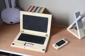 <b>Wooden</b> laptop and <b>phone combo</b> – Declan and Leah
