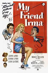 vintrad vintage radio blog my friend irma the show was sponsored by swan soap and irma would usually make a silly remark about it so the could be advertised frank bingman was the announcer