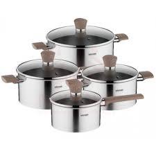 Набор посуды <b>Nadoba Ludva</b> со стеклянными крышками 8 пр., 5 ...