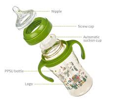 China Wholesale PPSU <b>Feeding Bottle</b> Plastic <b>Baby Milk Bottle</b> with ...