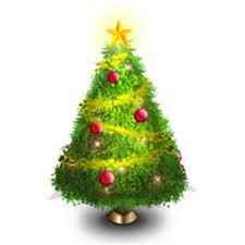 Resultado de imagen de christmas tree clipart
