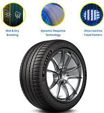 <b>MICHELIN Pilot Sport 4</b> S Performance Radial Tire-235/45ZR17/XL ...