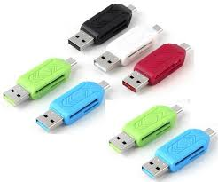 Micro USB OTG <b>TF Micro SD</b> Card Reader Adapter For Android ...