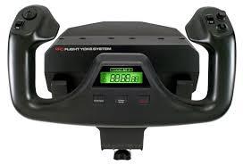 <b>Штурвал Logitech Pro</b> Flight Yoke System — купить по низкой ...