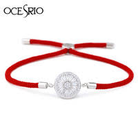OCESRIO Girls Zircon Gold <b>Bracelet</b> Rainbow Crystal Adjustable ...