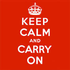 Keep Calm and Carry On | Know Your Meme via Relatably.com