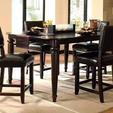 black kitchen dining sets: gallery images of the benefits of the round pedestal tall kitchen table