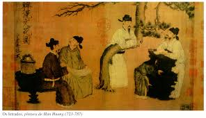 Resultado de imagen de pintura da dinastia tang