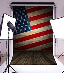 American Flag Backdrop Laeacco 3x5ft Vinyl ... - Amazon.com