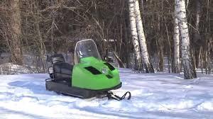 рассказ Снегоход Буран СП 640 - YouTube