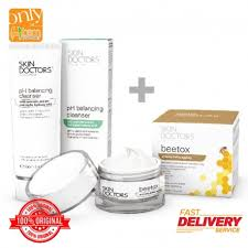 Skin Doctors Beetox 50ml Foc Ph Balancing Cleanser 100ml ...