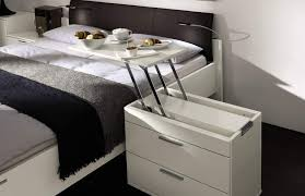 ideas bedside tables pinterest night: bedside tables tables and space saving on pinterest