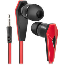 In-ear headphones <b>Defender Trendy</b> 704 black + red