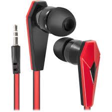 In-ear headphones <b>Defender Trendy 704 black</b> + <b>red</b>