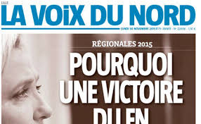 Marine Le Pen vs La Voix du Nord