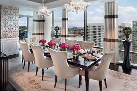 flower arrangements dining room table: view in gallery stunning dining table with flowers