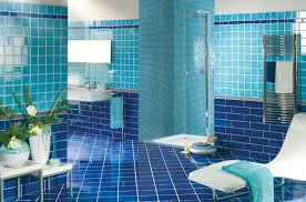 blue bathroom tile ideas:  dark blue bathroom floor tiles ideas and pictures
