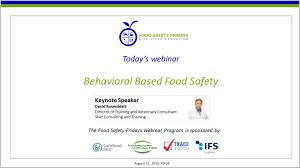 behavioral based food safety