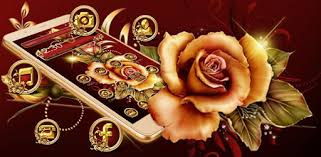 Golden <b>Red Luxury</b> Rose Theme - Apps on Google Play