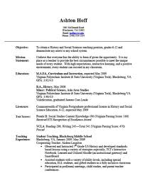 Resume Examples  Resume For No Job Experience Student With Education In Management Information Systems And