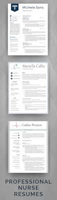 best images about professional resume templates professional nurse resume templates for medical professionals elegant and easy to edit nurse cv templates