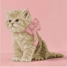 Кристальная <b>мозаика Фрея ALVR</b>-<b>115</b> Кошечка с розовым ...